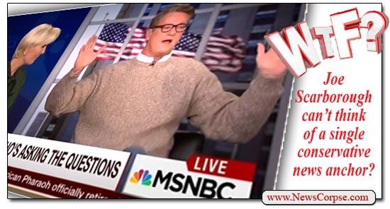MSNBC Joe Scarborough