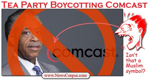 Tea Party Comcast Boycott