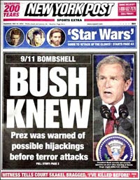 New York Post: Bush Knew