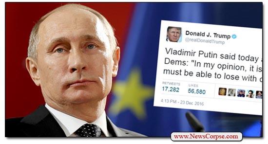 Putin Trump Tweet
