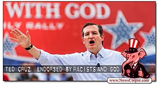 Ted Cruz, Racist