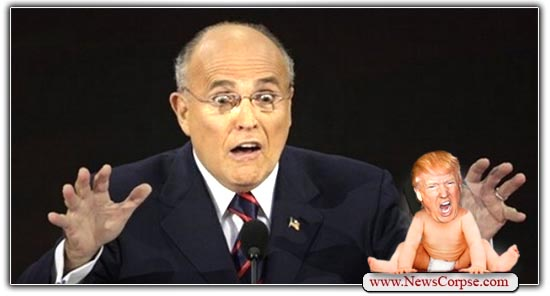 Rudy Giuliani, Donald Trump