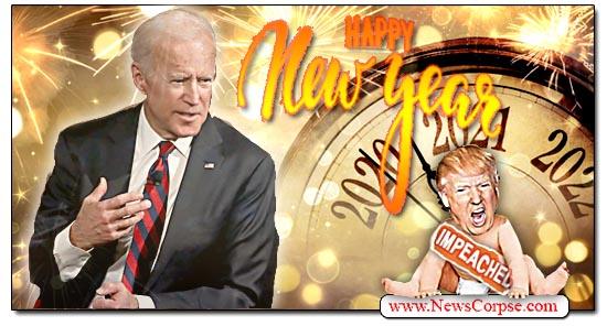 Donald Trump, New Year, Joe Biden