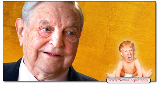 George Soros, Donald Trump