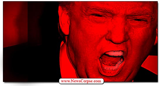 Donald Trump Angry