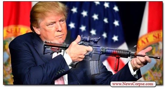 Donald Trump AR-15