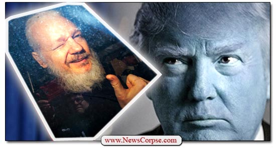 Donald Trump, Julian Assange
