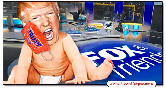 Donald Trump, Mask, Fox News