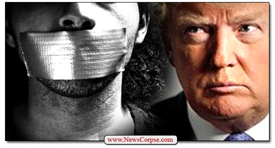 Donald Trump, Censorship
