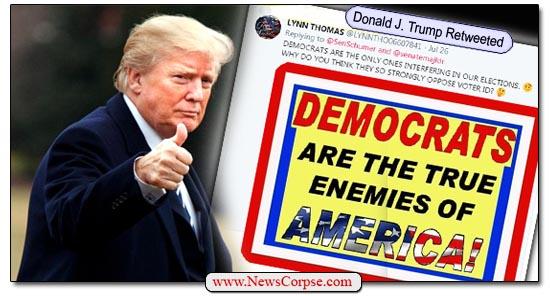 Donald Trump, Democrats