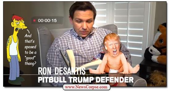 Donald Trump, Ron DeSantis