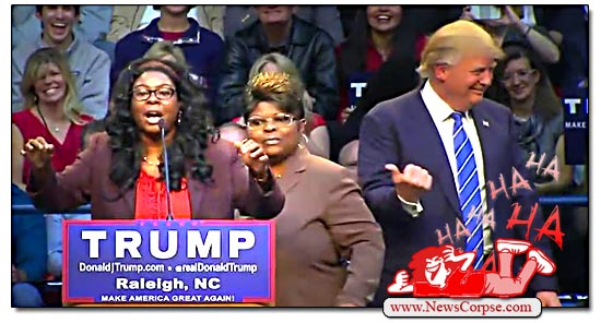 Trump Diamond and Silk