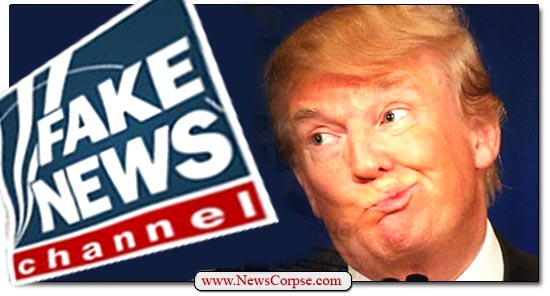 Donald Trump, Fox News, Fake