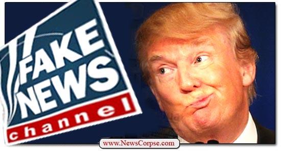 Donald Trump, Fox News, Fake
