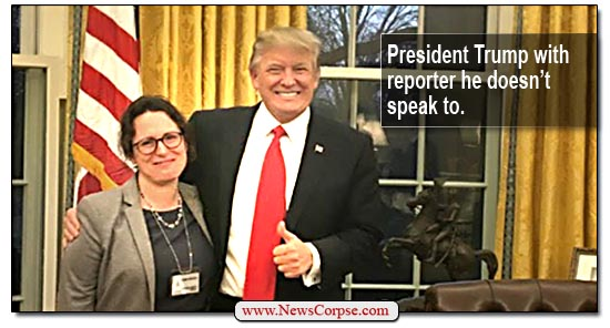 Donald Trump, Maggie Haberman