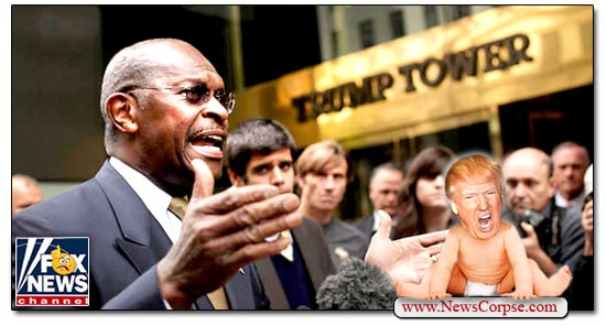Donald Trump, Herman Cain