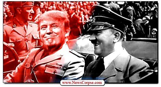 Donald Trump, Adolf Hitler