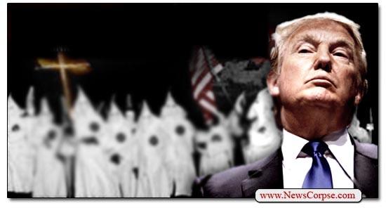 Donald Trump, Klan Leader