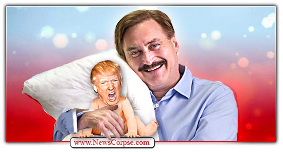 Donald Trump, Mike Lindell, MyPillow