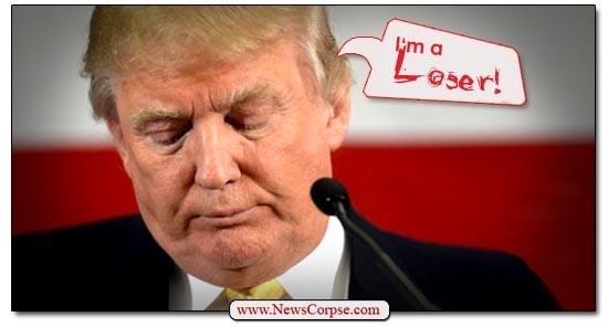 Donald Trump, Loser