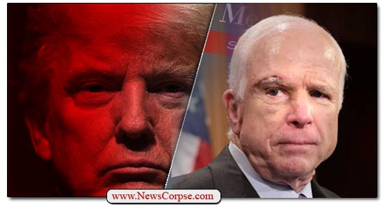 Donald Trump John McCain