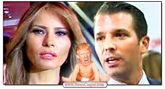 Donald Trump, Melania, Don Jr