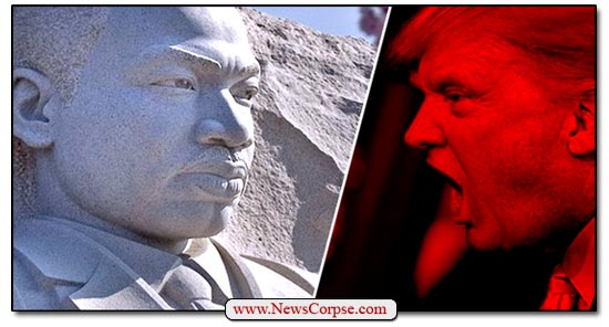 Donald Trump, Martin Luther King