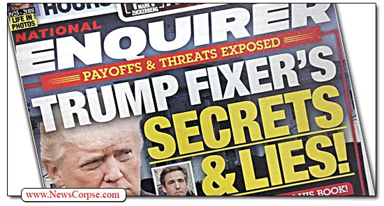 Donald Trump, National Enquirer