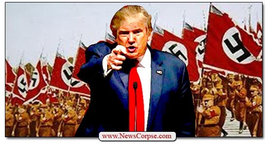 Donald Trump, Nazi Flags