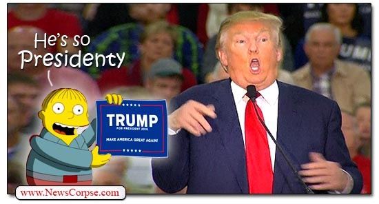 Donald Trump, Presidenty