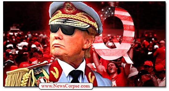 Donald Trump, QAnon, Dictator