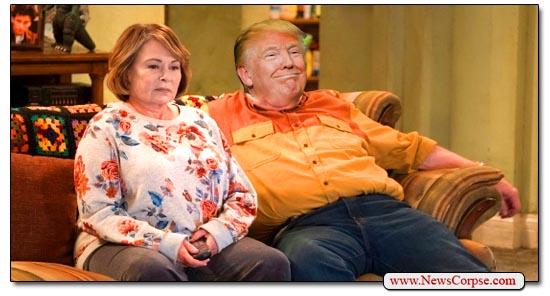 Donald Trump, Roseanne Barr