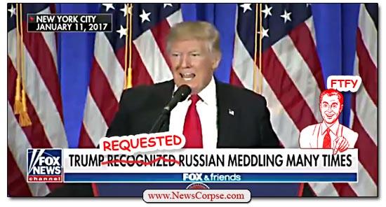 Donald Trump, Russia Meddling