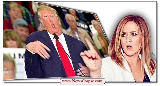 Donald Trump, Samantha Bee