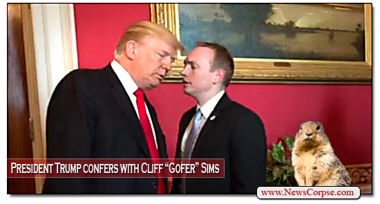 Donald Trump, Cliff Sims
