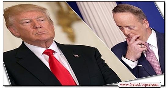 Donald Trump Sean Spicer