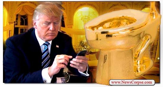 Donald Trump Toilet