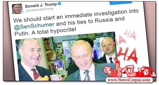 Schumer Putin