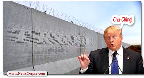 Donald Trump, Border Wall