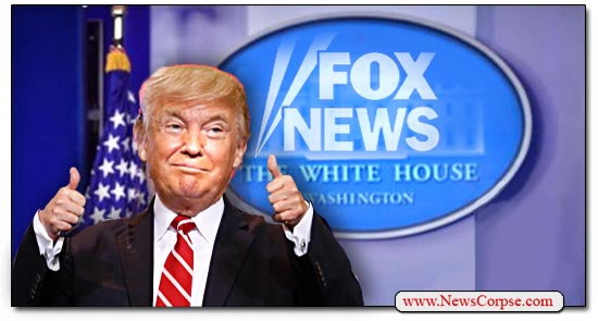 Donald Trump, Fox News, White House