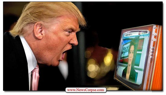 Image result for trump yelling at tv