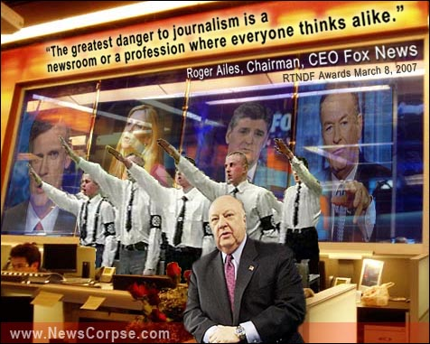 Roger Ailes Newsroom