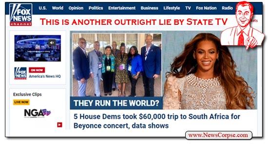 Fox News, Beyonce, Democrats