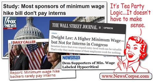 Minimum Wage vs. Interns