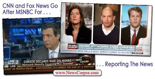 CNN, Fox News Go After MSNBC