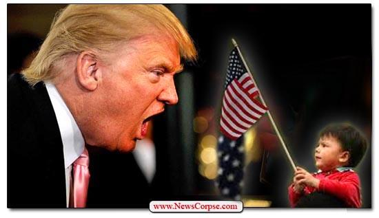 Donald Trump, Immigrant, Child