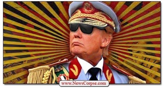 Donald Trump Tyrant Dictator